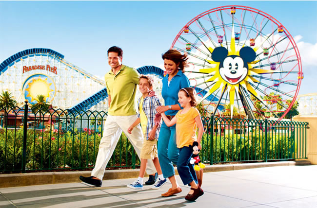 Disneyland, Universal Studios and Knotts Berry Farm are popular So Cal destinations